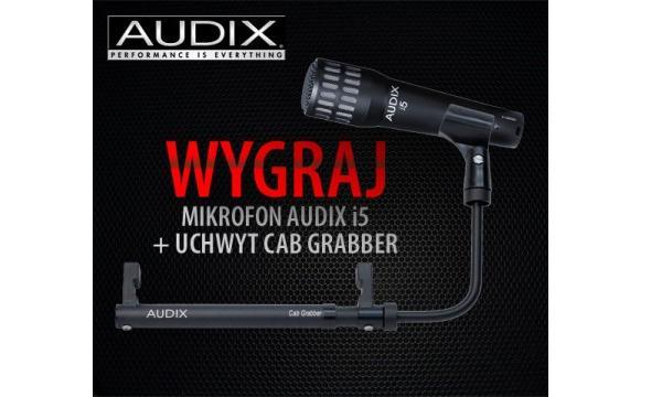 Wygraj mikrofon Audix i5 oraz uchwyt Cab Grabber