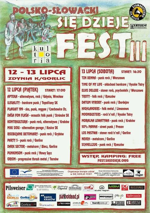 Się Dzieje Fest III w Beskidzie Niskim