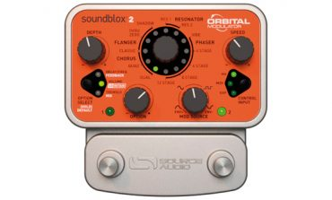 Source Audio Soundblox 2 Orbital Modulator - test efektu