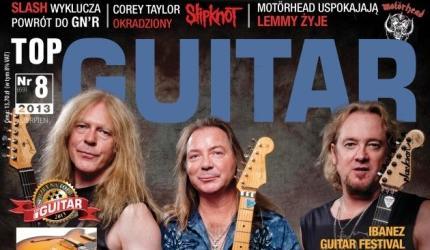 Gitary Murraya, Smitha i Gersa z Iron Maiden