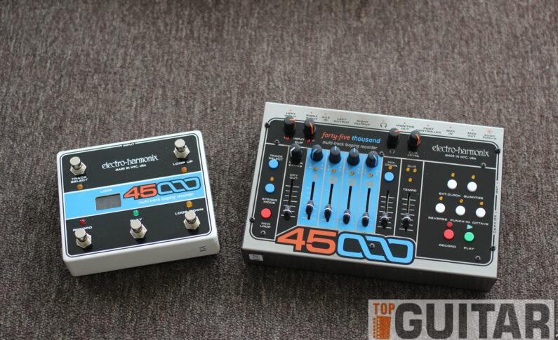 EHX 45000  Multi-Track Looping Recorder w redakcji TopGuitar