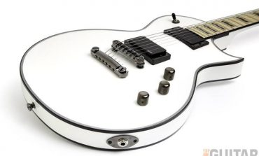 ESP Eclipse II USA Double Bound Maple Fingerboard Snow White