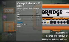 Wzmacniacze Orange w grze Rocksmith