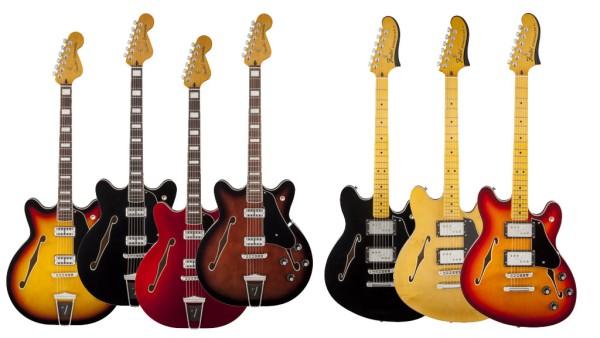 Coronado i Starcaster ponownie w katalogu Fendera