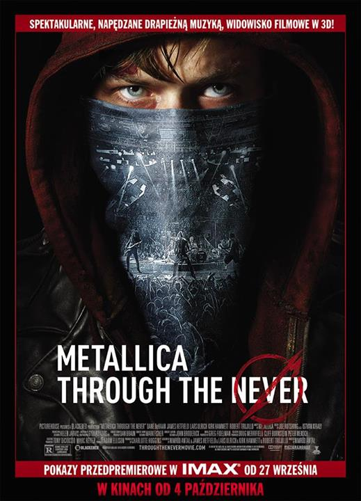 metallica through the never pl