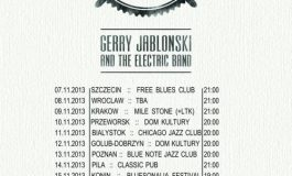 Gerry Jablonski And The Electric Band w trasie po Polsce