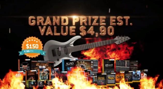 Konkurs Toontrack Metal Guitar God 2013