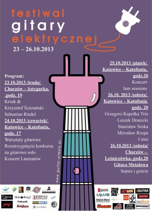 Krzak i Sebastian Riedel na Festiwalu Gitary Elektrycznej