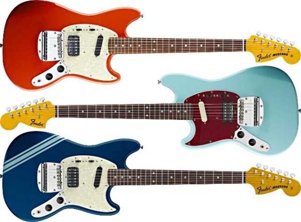 Fender przedstawia: gitary Kurta Cobaina