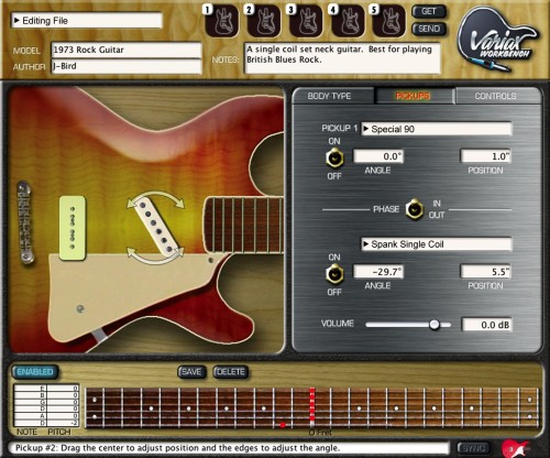 Line 6 Variax HD & Workbench HD Software Upgrade w magazynie TopGuitar