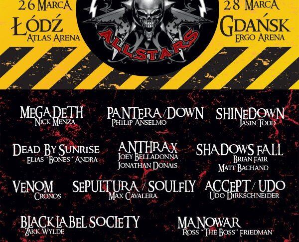 Metal All Stars: supergrupa na dwóch koncertach w Polsce