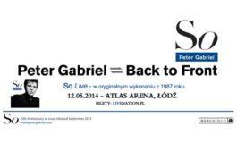 Peter Gabriel w łódzkiej Atlas Arenie