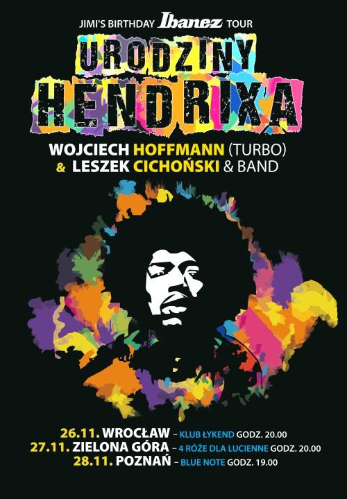 Ibanez zaprasza na urodziny Jimiego Hendrixa!