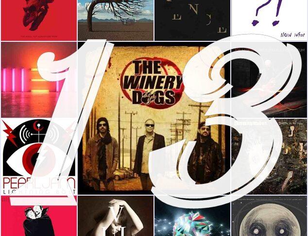 Top 13 albumów rockowych 2013 roku