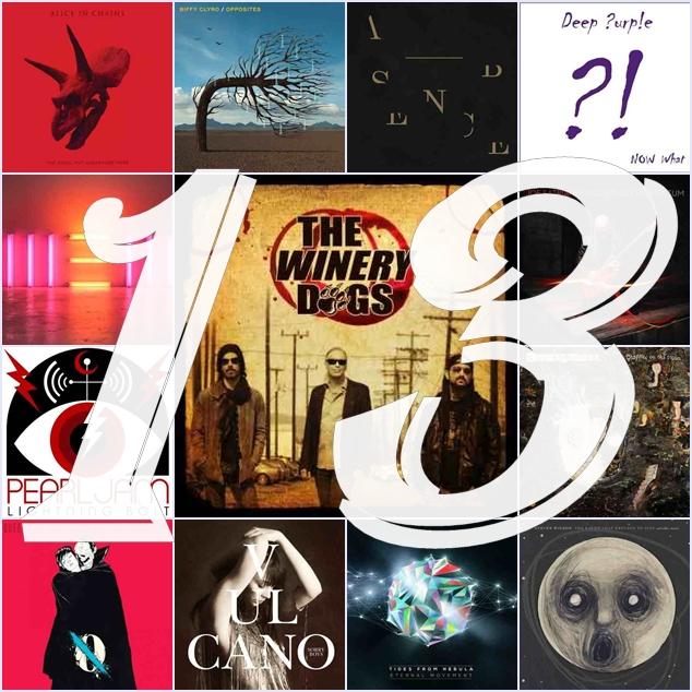 13 najlepszych albumow rockowych roku 2013