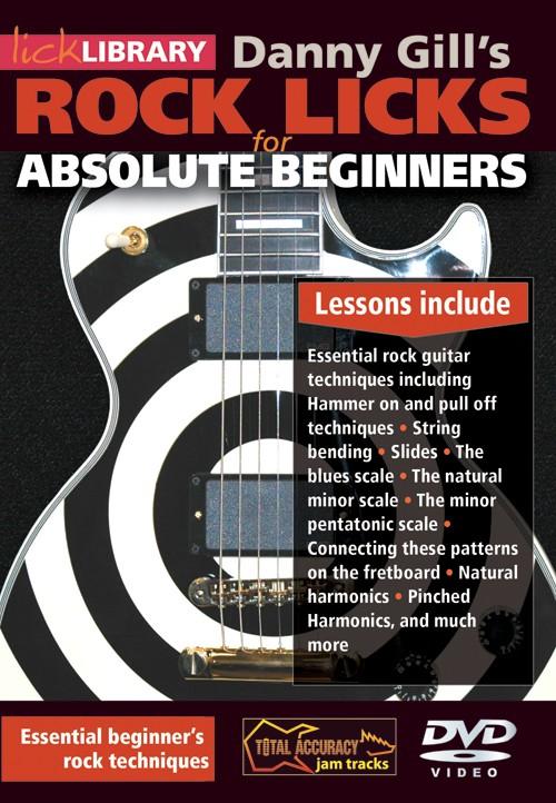 Absolute Beginner Rock Licks DVD