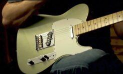 Fender Telecaster - próbki brzmienia przetworników gitarowych (wideo)