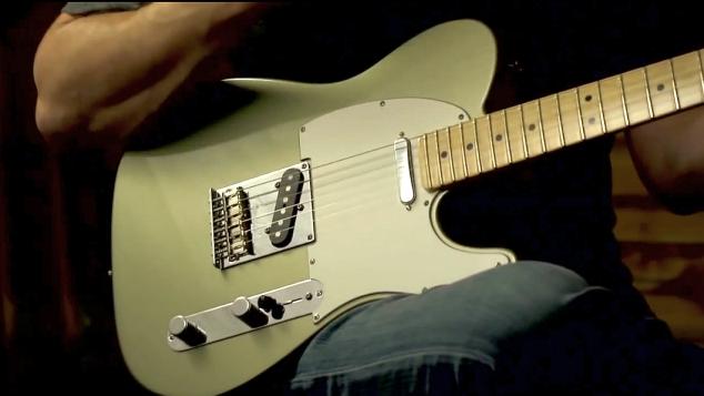 Fender Telecaster – próbki brzmienia przetworników gitarowych (wideo)