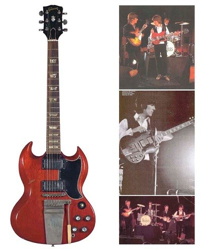 Gibson SG Harrison Lennon