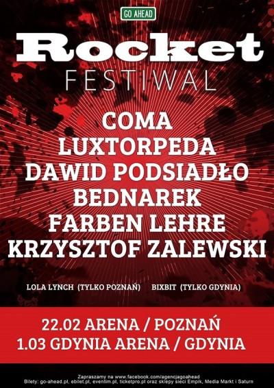 Rocket Festiwal w Poznaniu i Gdyni