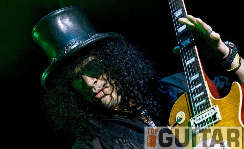 Slash kończy prace nad nowym albumem