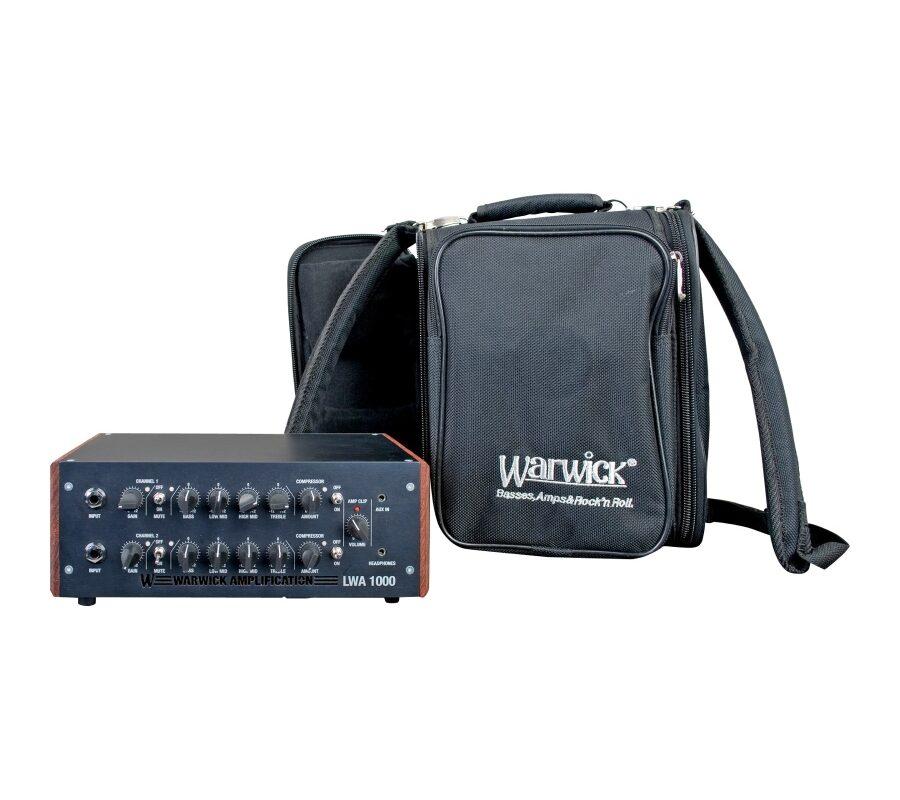 Warwick LWA 1000 – funkcje i brzmienie wzmacniacza basowego