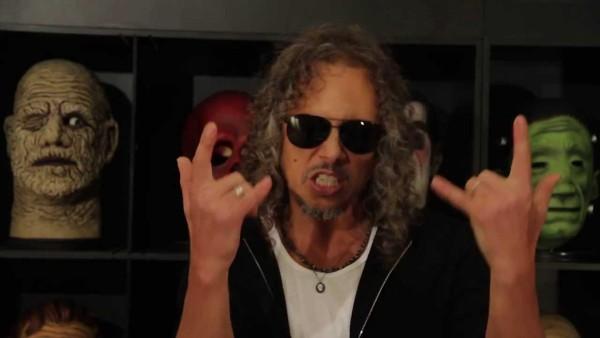 Kirk Hammett (Metallica) o graniu z Meshuggah