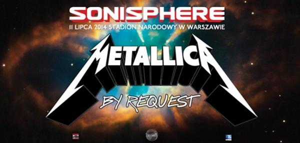 Metallica w Warszawie w ramach Sonisphere Festival 2014