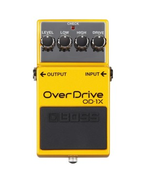 Nowości Boss: DS-1X Distortion i OD-1X OverDrive
