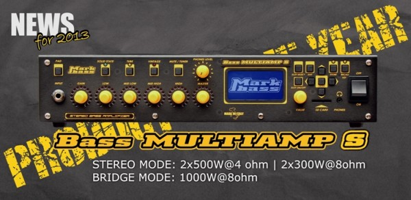 NAMM 2014: Markbass Multiamp S