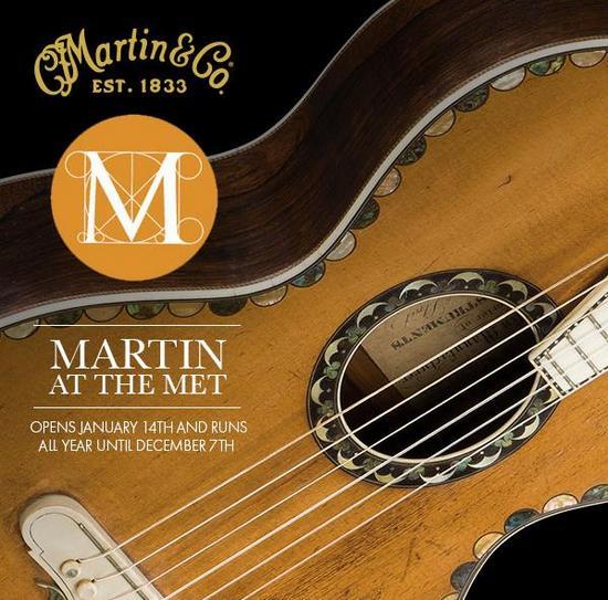 35 rzadkich gitar Martin w muzeum