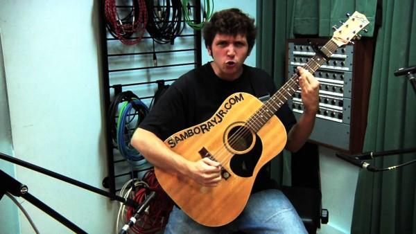 """Pantera """"Mouth For War"""" na gitarze akustycznej"""