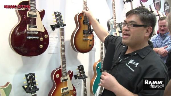NAMM 2014: nowe gitary Gibson Les Paul