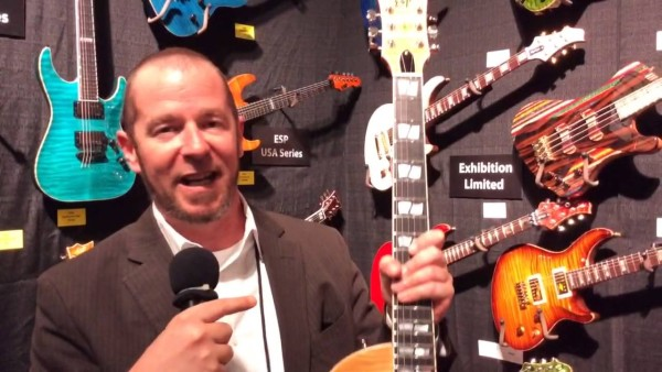 NAMM 2014: nowe gitary ESP USA