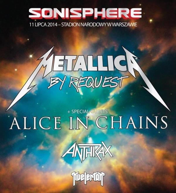 Konkurs z biletami na Sonisphere Festival 2014 rozstrzygnięty!