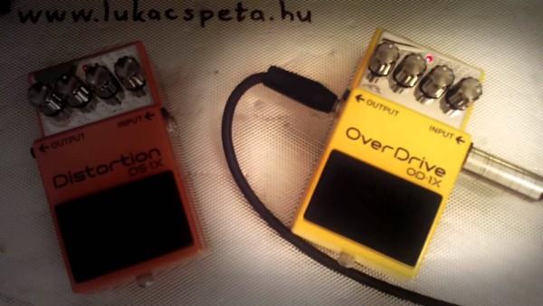 Zobaczcie w akcji nowe kostki BOSS OD-1X, DS-1X