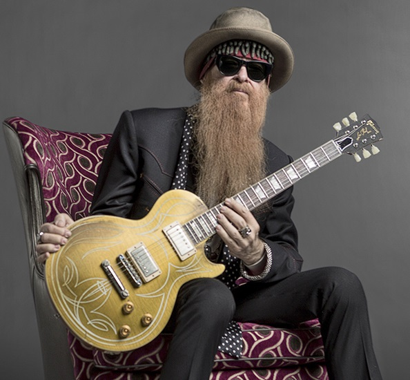 Gibson Billy Gibbons Goldtop Les Paul