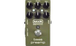 Nowy MXR Bass Preamp