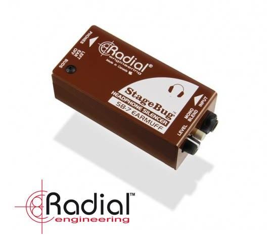 Radial przedstawia StageBug SB-7 EarMuff