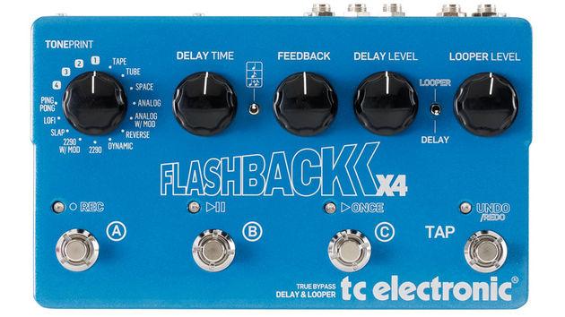 TC Electronic Flashback X4 kolejną nagrodą Guitar Awards 2014