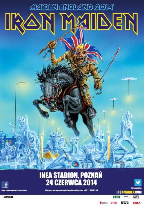 Bilety na Iron Maiden w Poznaniu już w sprzedaży
