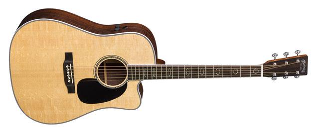 4 nowe gitary akustyczne Martin