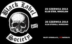 Black Label Society we Wrocławiu i Warszawie