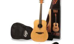 Lag T44 Pack - kompletny zestaw gitarowy