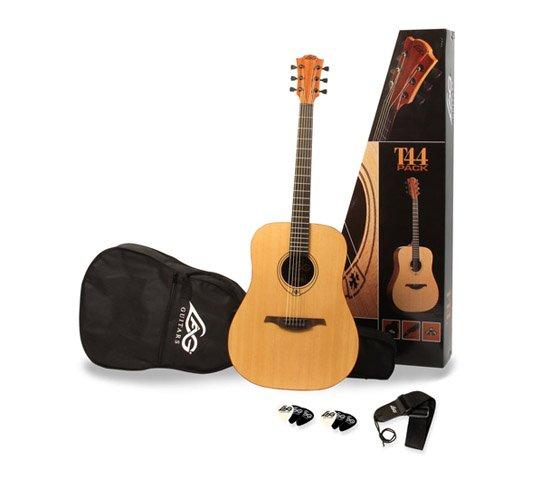 Lag T44 Pack – kompletny zestaw gitarowy