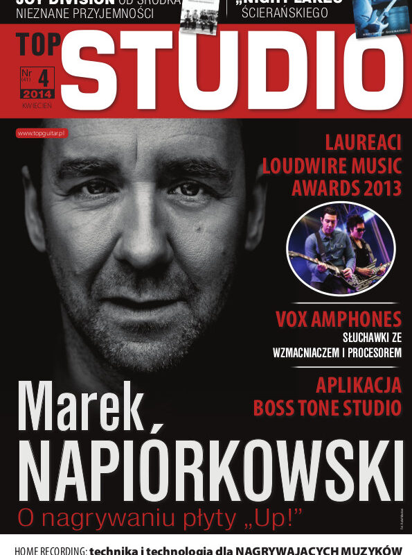 Marek Napiórkowski w TopGuitar