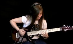 Tina S - Pink Floyd - Comfortably Numb Solo