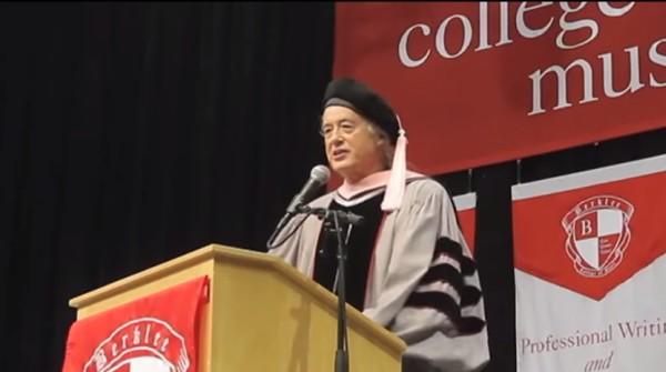 Jimmy Page otrzymał honorowy doktorat Berklee College of Music
