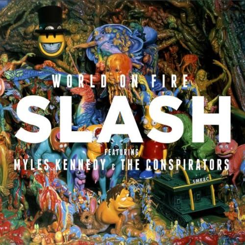 """Slash """"World On Fire"""": szczegóły albumu"""