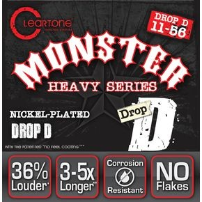 Struny Cleartone Monster Heavy Series Drop D w magazynie TopGuitar